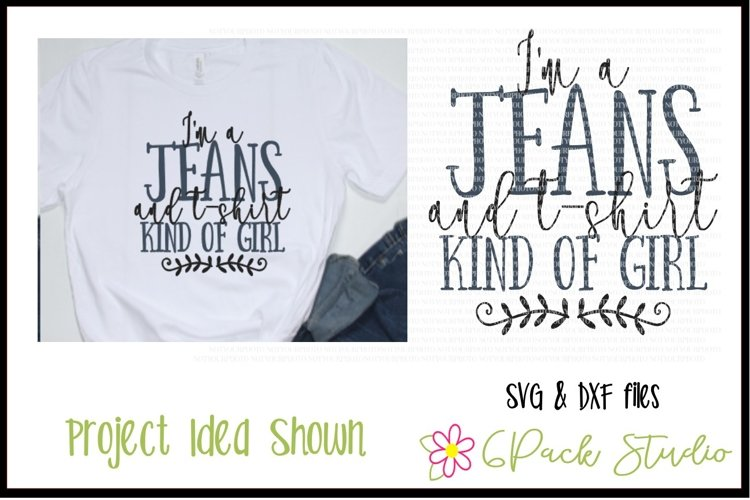Jeans & Tshirt SVG