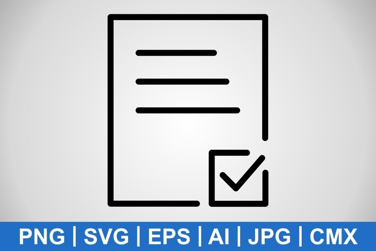 Vector Task Icon example image 1