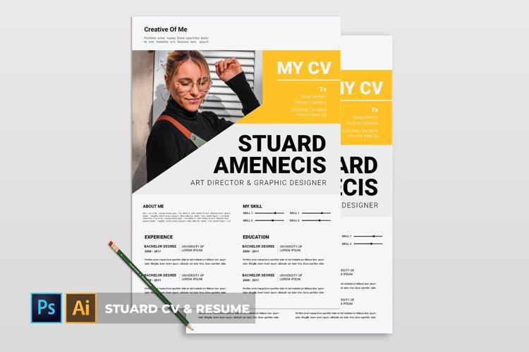 Stuard   CV & Resume example image 1