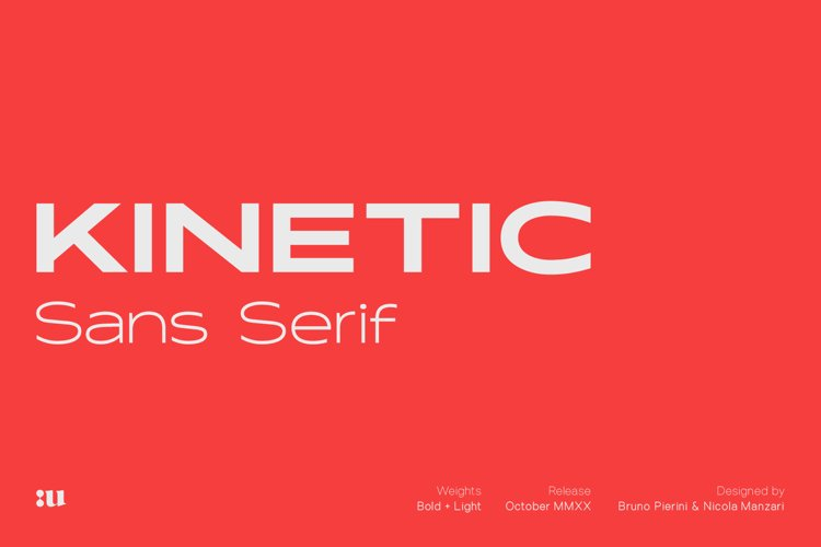 Kinetic Typeface example image 1