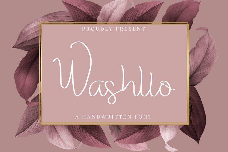 Washllo example image 1