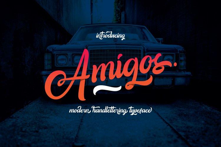 Amigos Typeface example image 1