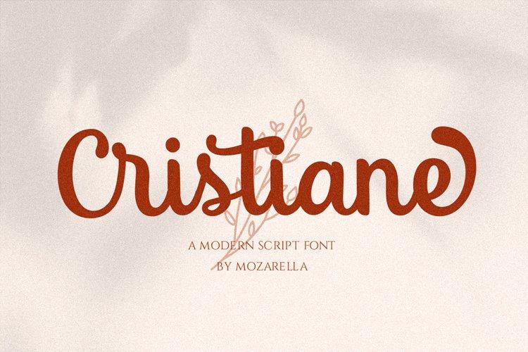 Cristiane - a Elegant Script example image 1