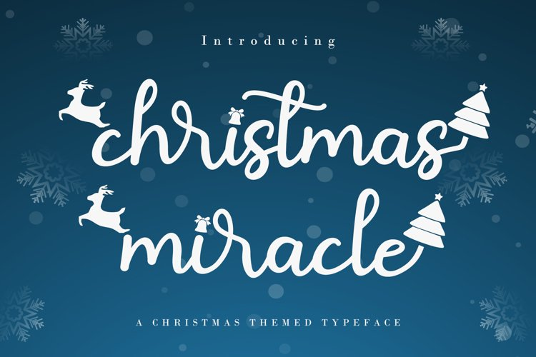 Christmas Miracle example image 1
