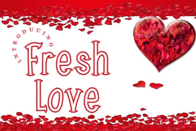 Fresh Love example image 1