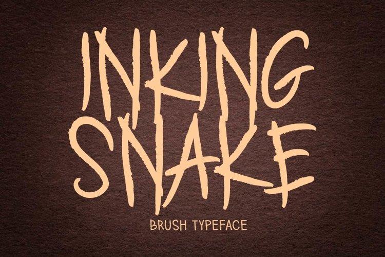 INKING SNAKE example image 1