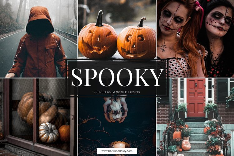 15 Spooky Lightroom Mobile Presets For Halloween example image 1