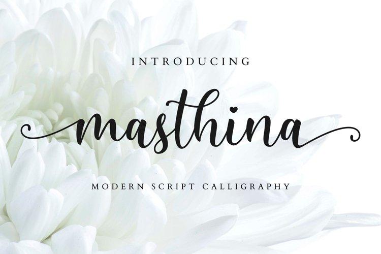 Masthina - Modern Calligraphy