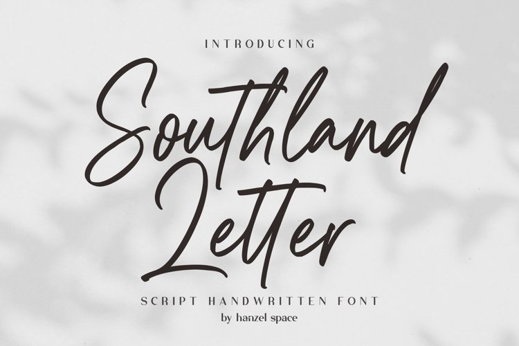 Southland Letter