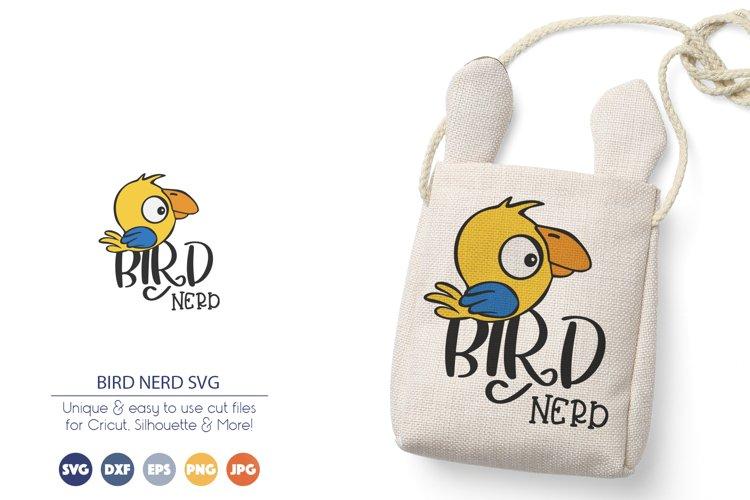 Parrot SVG | Bird SVG | Bird Nerd SVG example image 1