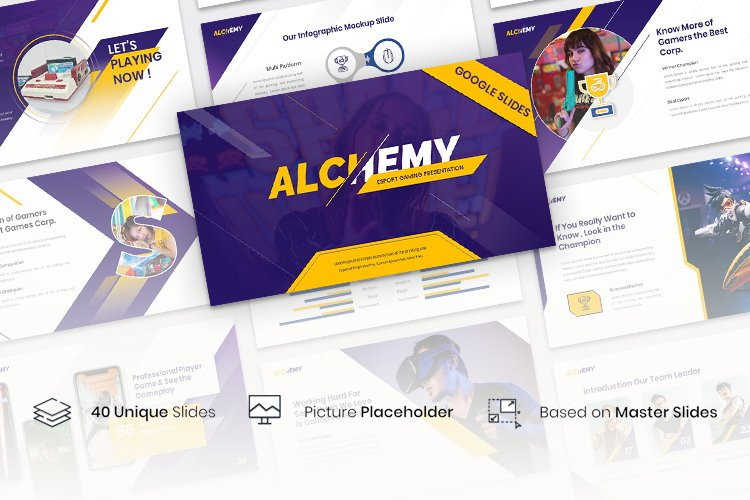 Alchemy - Esport Gaming Presentation Template example image 1