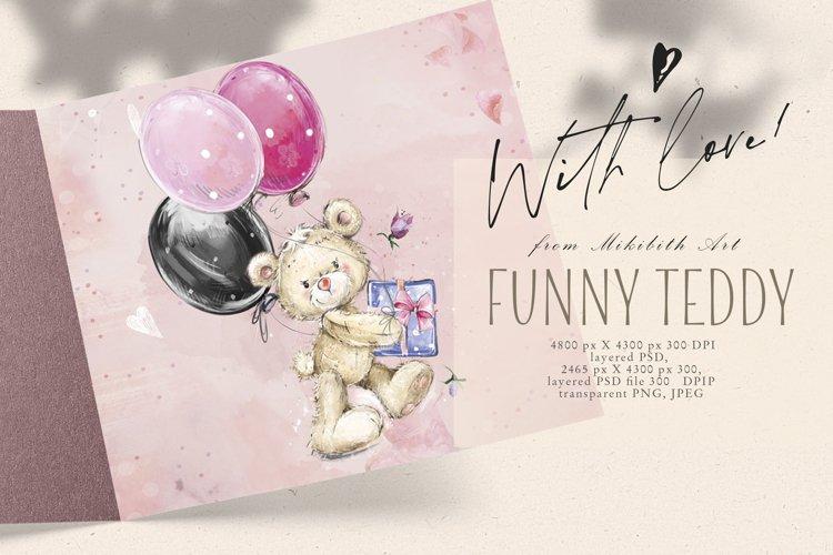 Teddy bear ready-made design