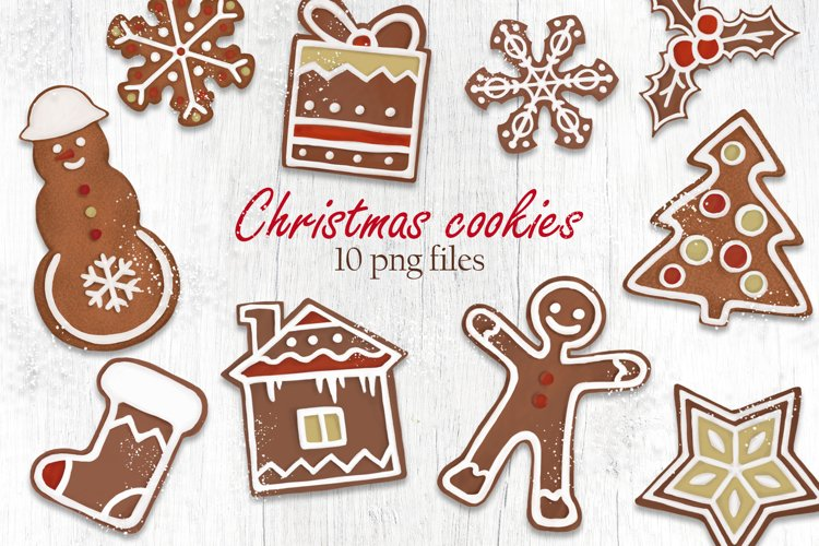 Christmas Gift Box Clipart example image 1