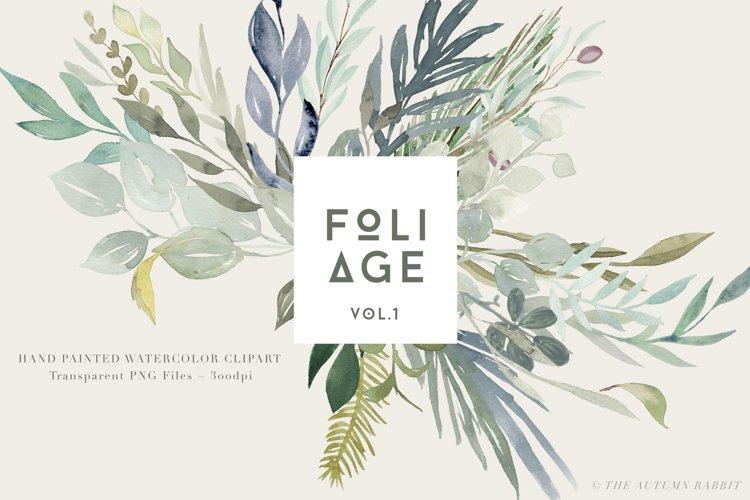 Foliage - Watercolor Leaves & Greenery