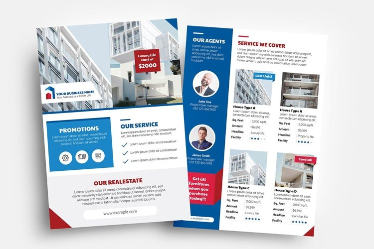 Real Estate Flyer Templates Vol.3 example image 1