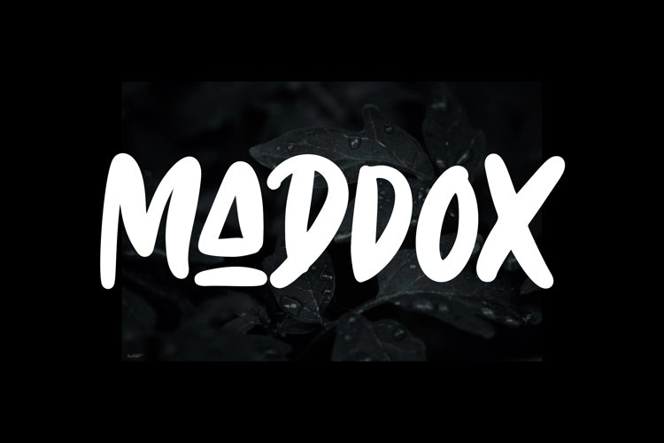 Maddox - Caps Font example image 1