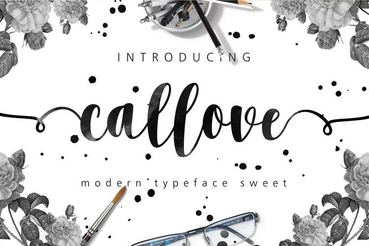 Callove Script example image 1