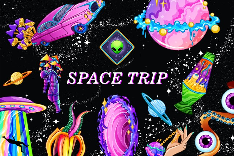 Space clipart, Space trip, Pastel goth, Psychedelic