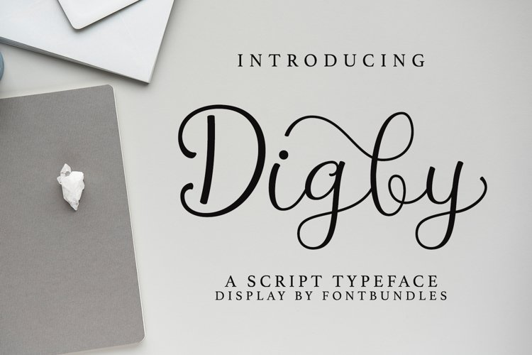 Web Font Digby example image 1