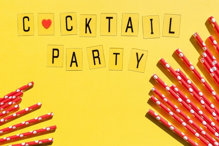 Cocktail party banner example image 1