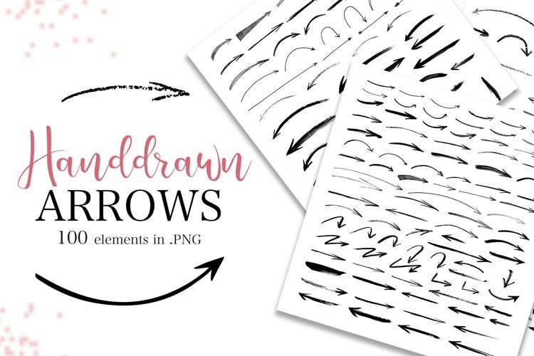 Handdrawn arrows Big Collection example image 1