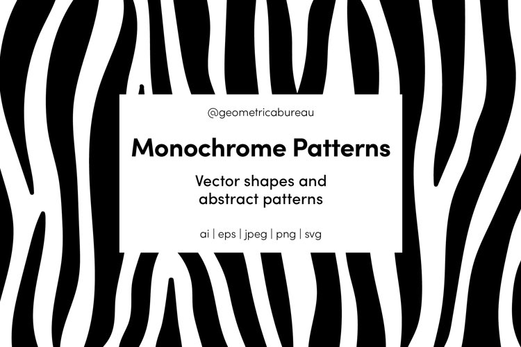 Monochrome Patterns example image 1