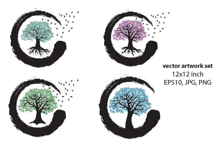 Tree of life- VECTOR ARTWORK SET