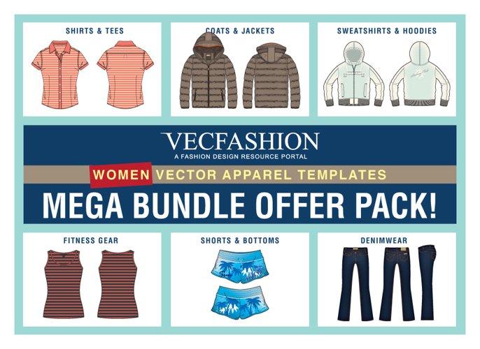 Women Fashion Templates Mega Bundle Offer Pack!