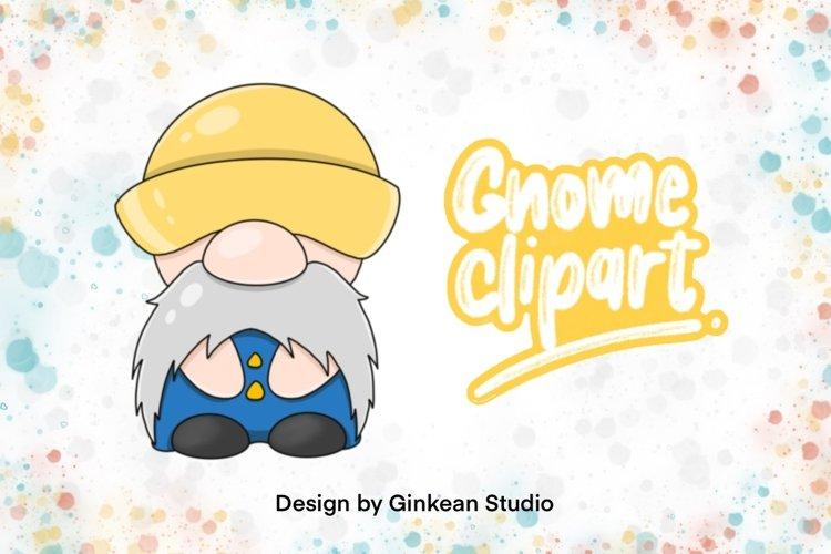 Gnome clipart, gnome png, cute gnome, Gnomestone, sticker