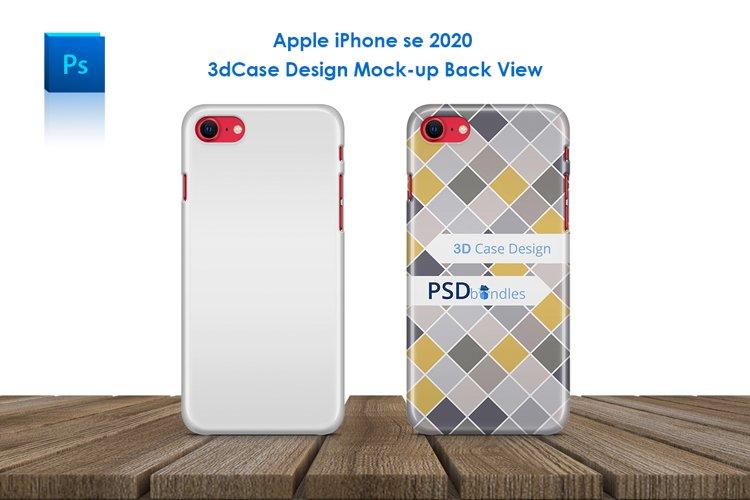 Apple iPhone SE 2020 3d Phone Case Mock-up