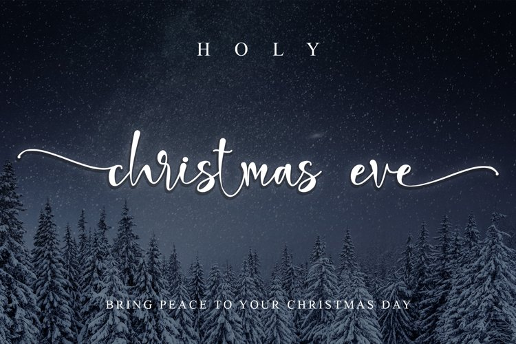Holy Christmas Eve