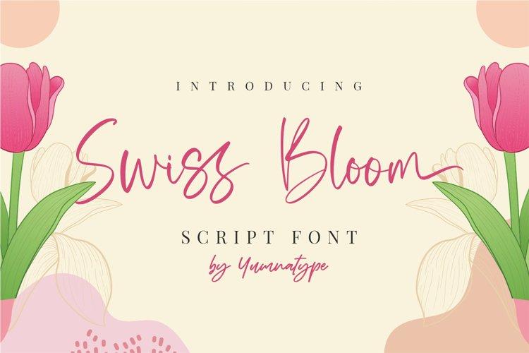 Swiss Bloom example image 1