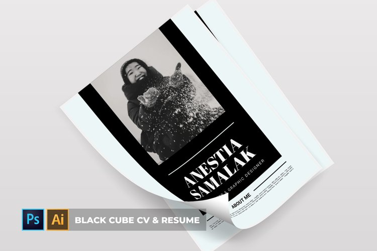 Black Cube | CV & Resume example image 1