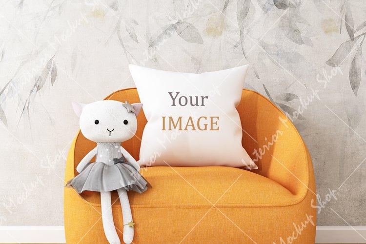 Mockup Pillow Kids \243 example image 1