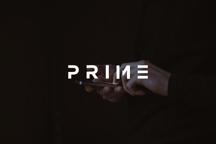 Prime - modern bold Sans Serif Font