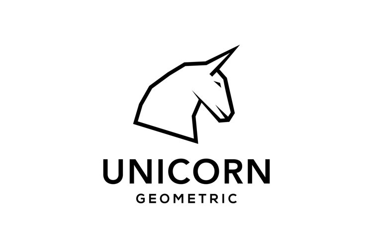 Unicorn logo example image 1