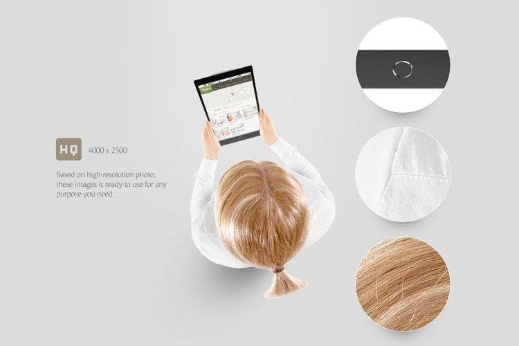 Tablet Mockup - Free Design of The Week Design1