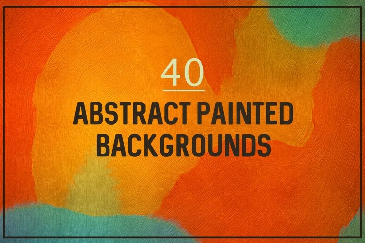 Painted abstract backgrounds example image 1