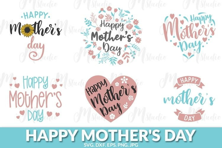 Happy Mothers Day svg bundle