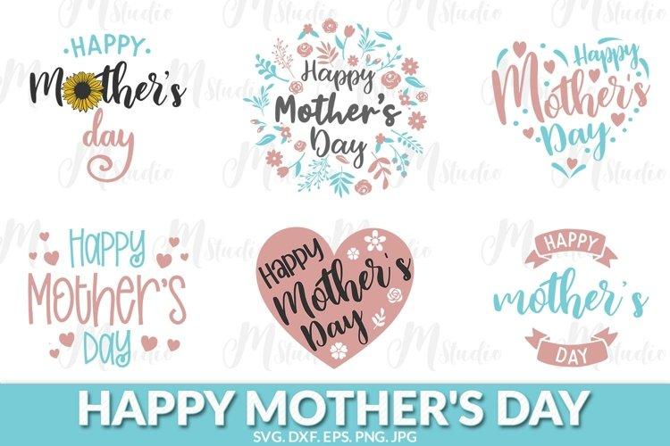 Happy Mothers Day svg bundle