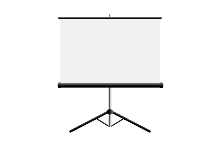 Flipchart mockup isolated on white background example image 1