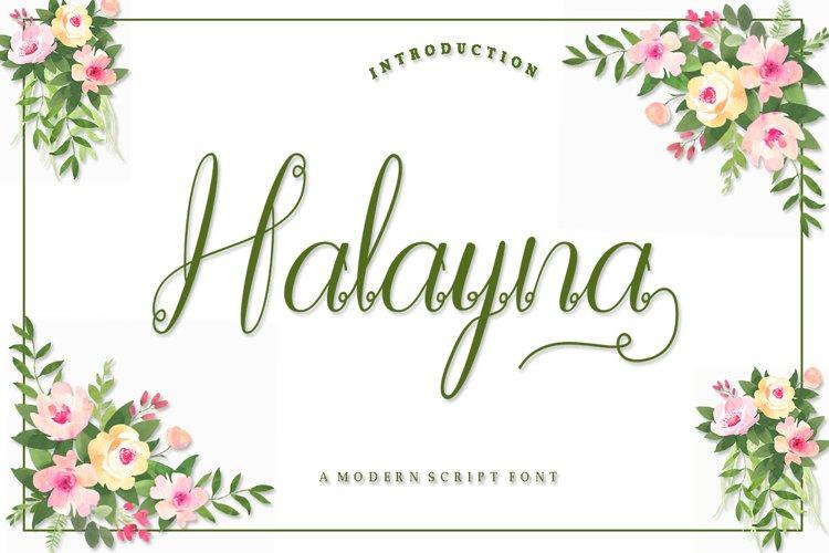 Halayna example image 1