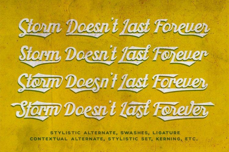 Khadija Script - 4 Fonts example 1