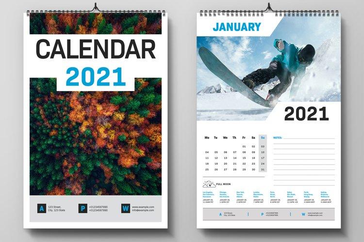 2021 Calendar example image 1