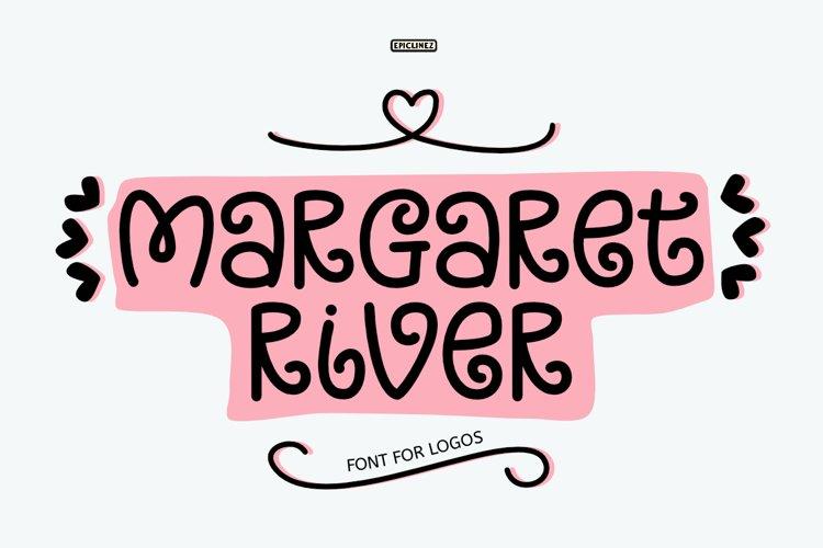 Margaret River - Font For Logos. example