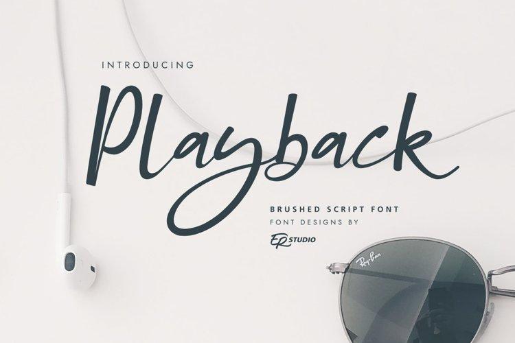 Playback example image 1