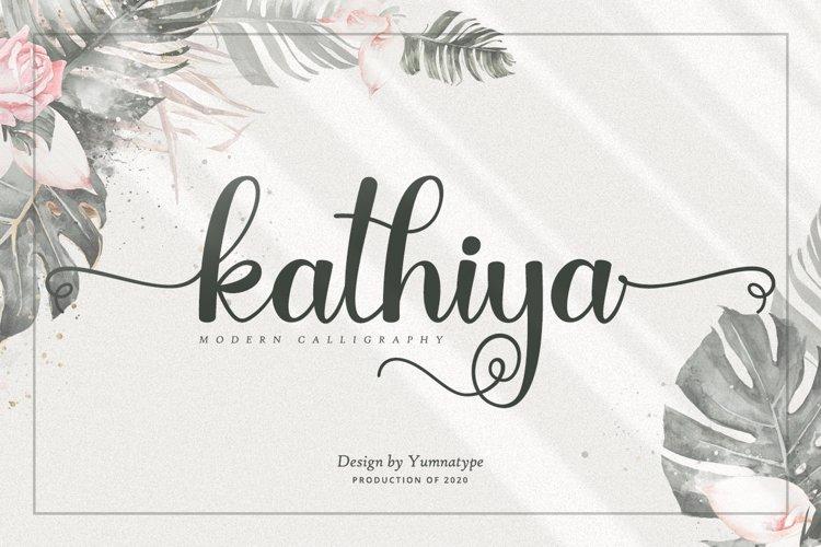 Kathiya Script example image 1