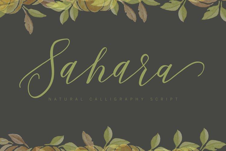 Sahara Script example image 1