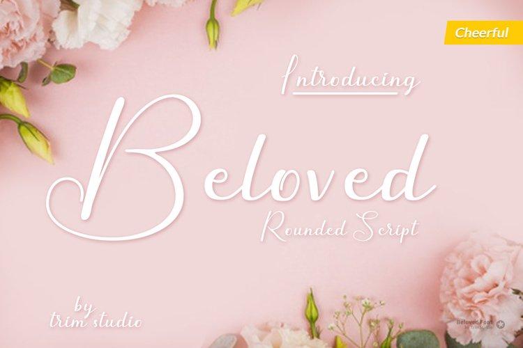 Beloved - Modern Script Calligraphy