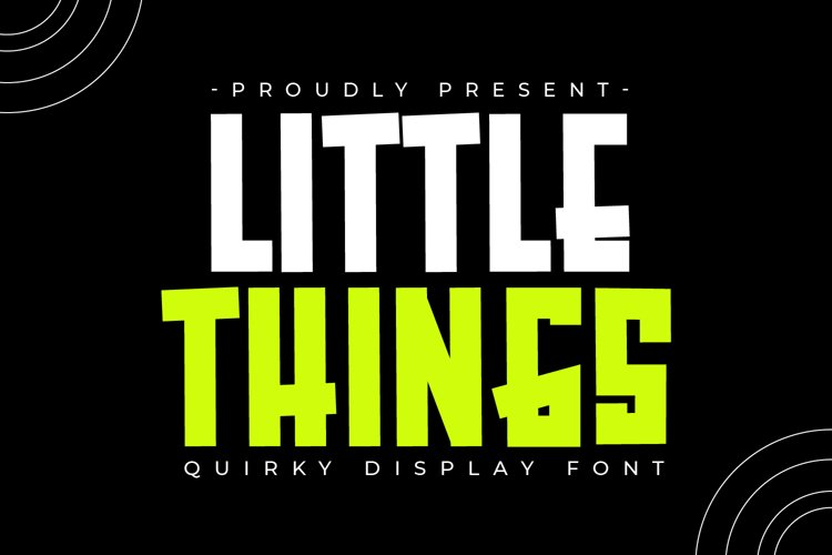 Little Things example image 1